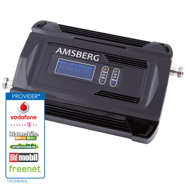 Amsberg Dual Band GSM-UMTS Repeater WRE921